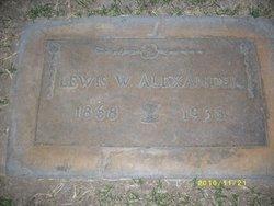 Lewis Wolfe Alexander