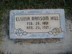 Elvina <i>Ransom</i> Hill