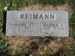Marjory J. <i>White</i> Reimann