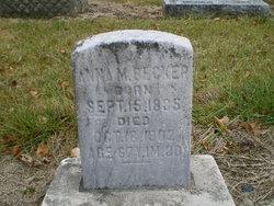 Mary Ann Anna <i>Caster</i> Becker