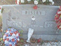 Martha Eleve <i>James</i> Risley