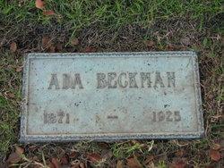 Ada Beckman