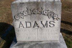 Martha Jane <i>Tegarden</i> Adams