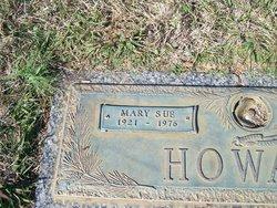 Mary Sue <i>Burdette</i> Howard
