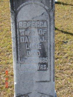 Mary Rebecca <i>Sutton</i> Luke