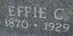Effie C. <i>Stagen</i> Alberts