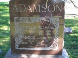 Maggie J <i>Sinclair</i> Adamson