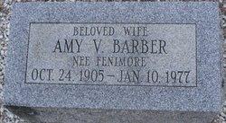 Amy V <i>Fenimore</i> Barber