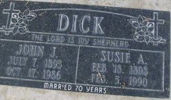John J Dick