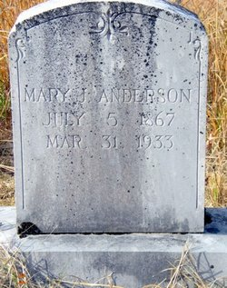 Mary Jane <i>Vaughan</i> Anderson