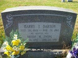 Harry T Barton