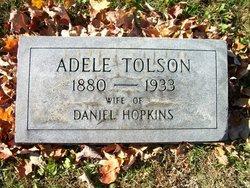 Adele <i>Tolson</i> Hopkins