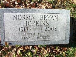 Norma <i>Bryan</i> Hopkins