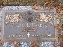 Gloria Lee <i>Knapp</i> Carder