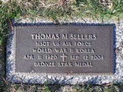 MSgt Thomas M Sellers