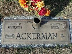 Annetta H Ackerman