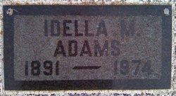 Idella M <i>Peets</i> Adams