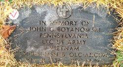 John Gordon Boyanowski