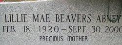 Lillie Mae <i>Beavers</i> Abney