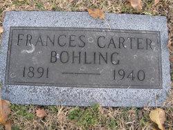 Frances <i>Carter</i> Bohling