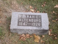 Sarah C. <i>Bodine</i> Altenburg