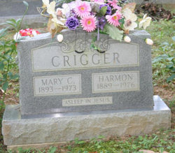 Mary Caroline <i>Brown</i> Crigger