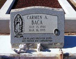 Carmen A <i>Trujillo</i> Baca