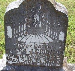 Ruby Crowson