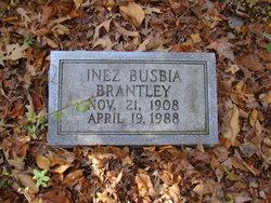 Inez <i>Busbia</i> Brantley