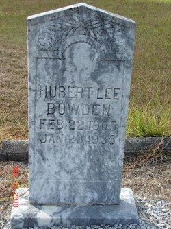 Hubert Lee Bowden