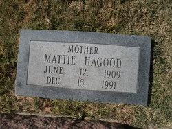 Mattie <i>Stinnett</i> Hagood