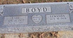 Earl Boyd