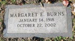 Margaret E Burns