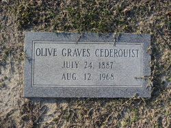 Olive <i>Graves</i> Cederquist