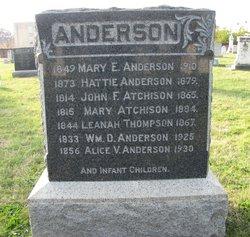 William D Anderson