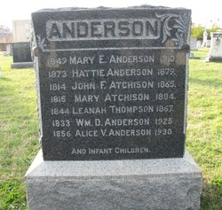 Alice V Anderson