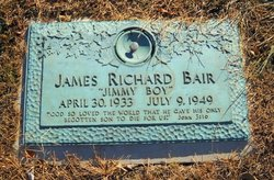 James Richard Jimmy Boy Bair