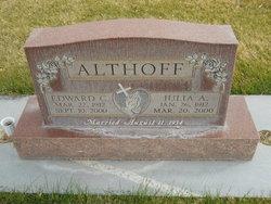 Edward C Althoff