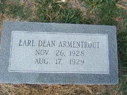 Earl Dean (Deene) Armentrout