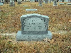 Frank Binkley