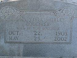 Buena Vista <i>Shirley</i> Bouchier