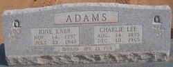 Ione <i>Karr</i> Adams