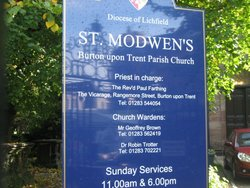 St Modwen Churchyard