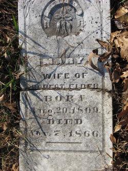 Mary <i>Witt</i> Elder