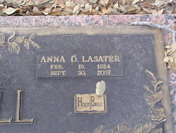 Dr Anna <i>Lasater</i> Connell