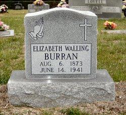 Elizabeth Lizzie <i>Walling</i> Burran