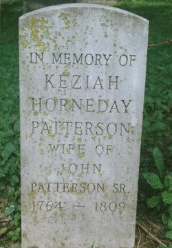 Keziah <i>Horneday</i> Patterson