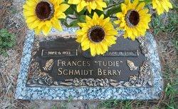 Frances Tudie <i>Schmidt</i> Berry