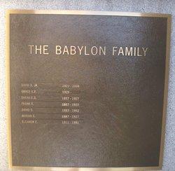 Marian C Babylon