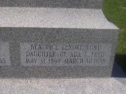 Beatrice Lenore Bond